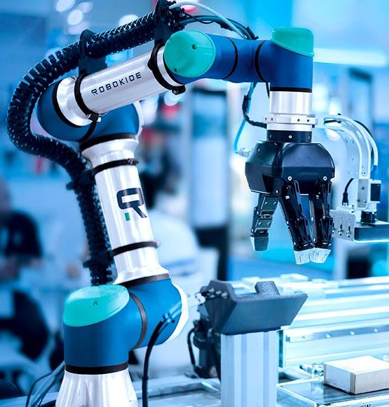 Robokide robotica industrial y colaborativa